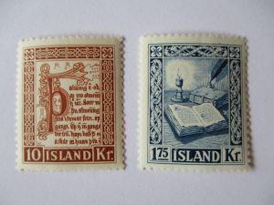 Island, Nr. 290-291, Manuskripte, Bücher, postfrisch (49593)
