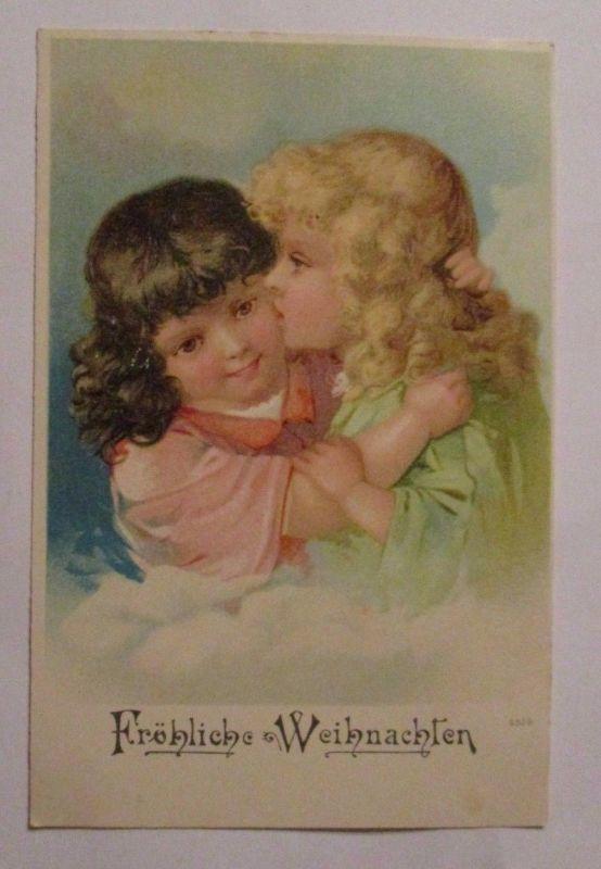 Weihnachten, Kinder, Kuss\