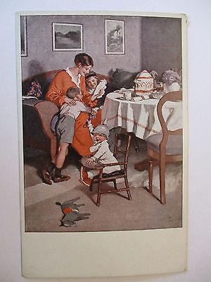 Wennerberg Künstlerkarte, Gute Nachrichten von der Front (39849)