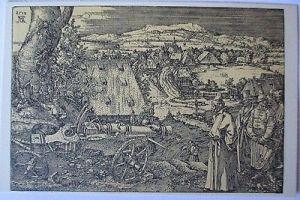Künstlerkarte Albrecht Dürer, Die Feldschlange (Schlachtfeld) (40591)