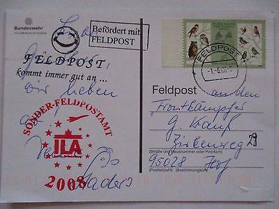 Bundeswehr Feldpost ILA 2008, Luftwaffe Sonderkarte (52653)
