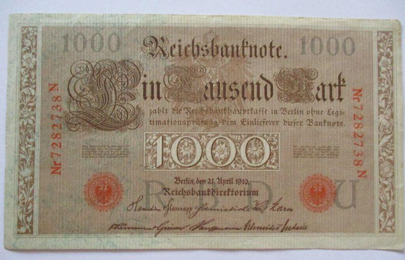 D.Reich, 1000 Mark, Rosenberg 45 (48886)