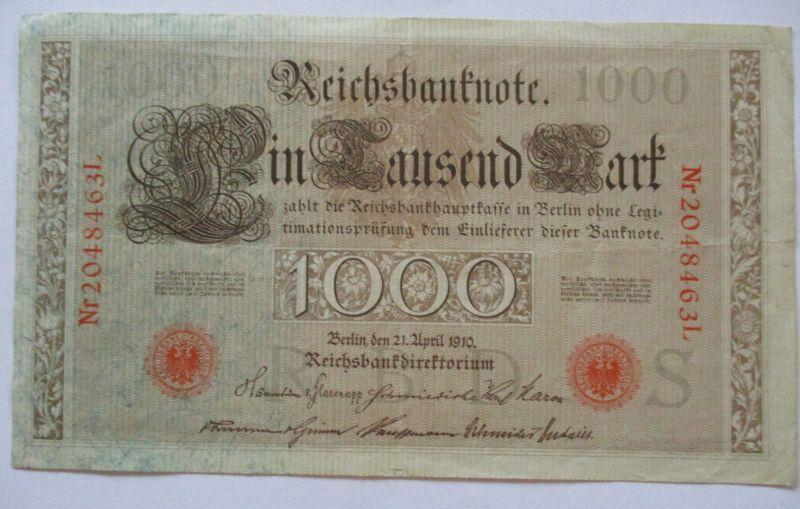 D.Reich, 1000 Mark, Rosenberg 45 (48885)