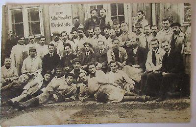 Berufe Schuhe Schuster, Schuhmacher Werkstatt, Fotokarte (47099)
