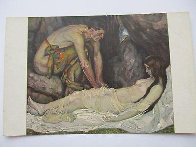 Künstlerkarte Ernst Liebermann, Verlorenes Glück (34137)
