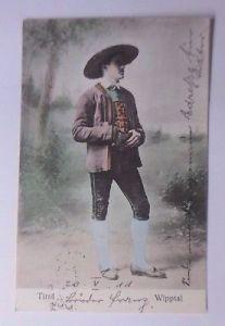 Männer, Trachten, Tirol, Wipptal,      1911 ♥ (58903)