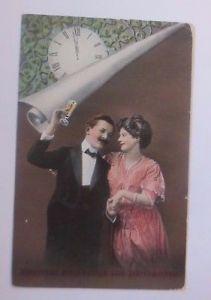 Neujahr, Frauen, Männer, Mode, Sekt, Uhr   1913   ♥  (59108)