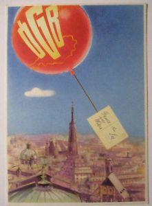 Österreich, Gewerkschaft Arbeiterbewegung, FDC Karte 1953 (29013)