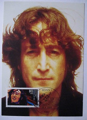 Musik Beatles, John Lennon, Maximumkarte 1988 (29014)