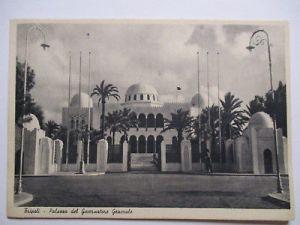 Italien Libyen, Tripoli, Palast des Gouverneurs, ca. 1930 (31104)