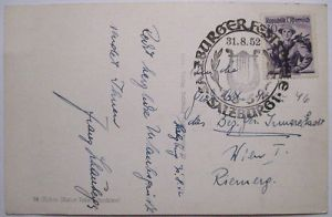 Österreich, Salzburg Burgfest 1952 (21888)