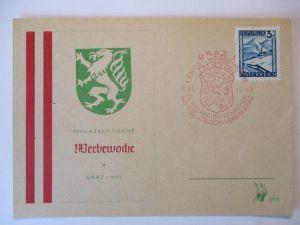 Österreich, Philatelistische Werbewoche Graz 1947 (19234)