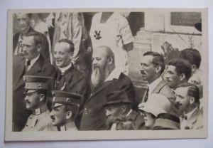 Österreich, Wien, Versammlung, Persönlichkeiten, Fotokarte (21783)