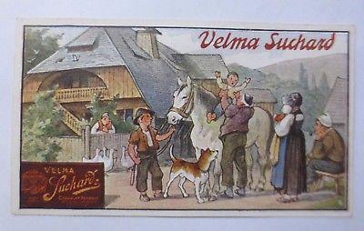 Sammelbild, Velma Suchard, Milka, Cacao, Chocolat   1900, Serie 174 ♥ (60966)