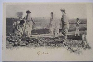Meer, Strand, Baden, ca. 1900 (48258)