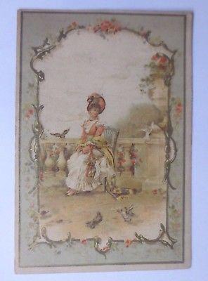 Kaufmannsbilder, Oblaten, Dupont, Frauen, Mode,  1900 ♥ (61871)