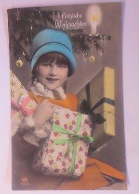 Weihnachten Kinder Geschenke Kerze 1920 62484 Nr 62484