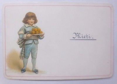 Kaufmannsbild, Kinder, Gebäck    1900    ♥ (62312)