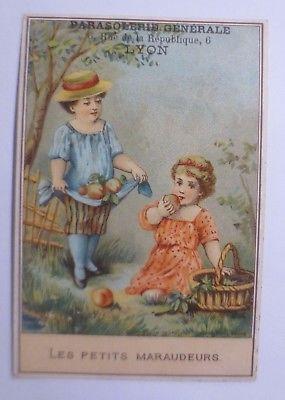 Kaufmannsbilder,  Meu Imbert-Lyon    Kinder, Äpfel,    1900 ♥ (61917)