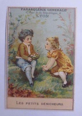 Kaufmannsbilder,  Meu Imbert-Lyon    Kinder, Nest, Eier,   1900 ♥ (61916)