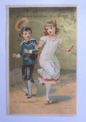Kaufmannsbilder,  Chocolat Lyon   Kinder, Spielen,  1900 ♥ (61903)