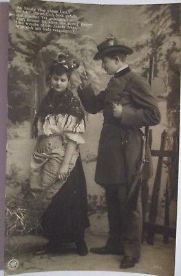 Jagd, Jäger und Frau, 1909 aus Koblenz (21226)