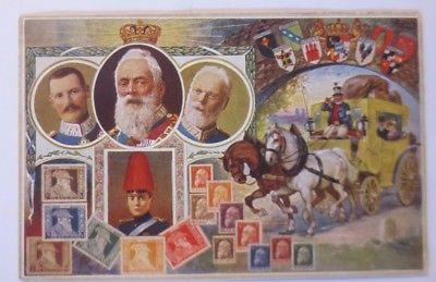 Bayern König Ludwig Prinzregent  Briefmarken Jubiläumskarte 1912   ♥ (63379)