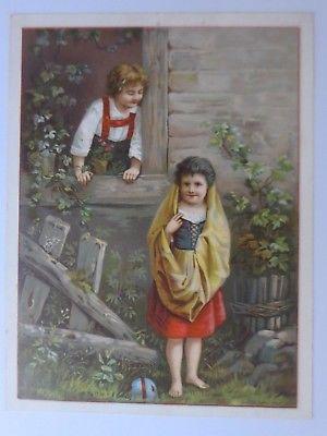 Sammelbild, Kaufmannsbild, Cacao van Houten, Holland ♥  (63780)