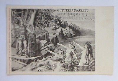 Richard Wagner, Komponist,  Götterdämmerung, 1911 ♥ (61323)