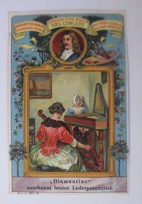 Kaufmannsbilder, Gemälde Alter Meister, Das Concert, Serie 304, Nr.3 ♥(64317)
