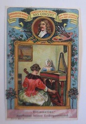 Kaufmannsbilder, Gemälde Alter Meister, Das Concert, Serie 304, Nr.3 ♥ (64314)