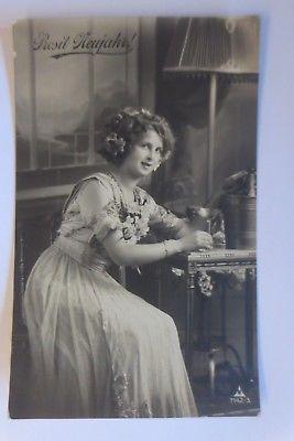Neujahr, Frauen, Mode, Sekt,  1911 ♥ (64774)