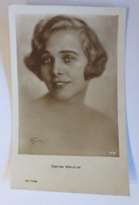 Schauspieler,  Gerda Maurus aus Österreich  ♥ (64656)