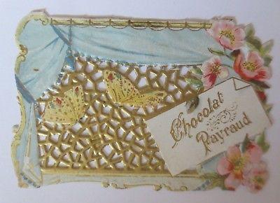 Kaufmannsbilder, Chocolat, Payraud, Rosen, Schmetterlinge  ♥ (64591)