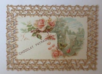 Kaufmannsbilder, Chocolat, Cacao, Payraud, Rosen, Brunnen,  ♥ (64590)