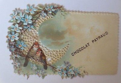Kaufmannsbilder, Chocolat Payraud, Vogel, Blumen,  ♥ (64589)