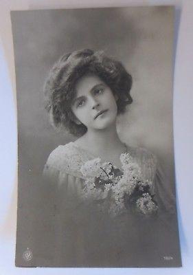 Frauen, Mode, Blumen,  1910  ♥ (64691)