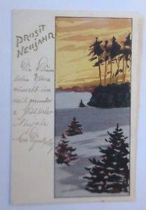 Neujahr, Winter, Wald,   1902,  ♥  (64991)