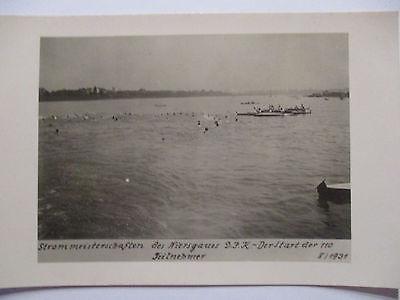 Sport DJK, Rudern, Kajak, Schwimmen, Strommeisterschaften 1931 (48188)