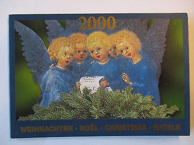 Schweiz, Markenheftchen Weihnachten 2000, ESST (37725)
