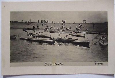 Sport DJK, Rudern, Kajak, Schwimmen, 1931 (48189)