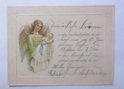 Taufe, Engel, Schutzengel,   1924 ♥  (62340)