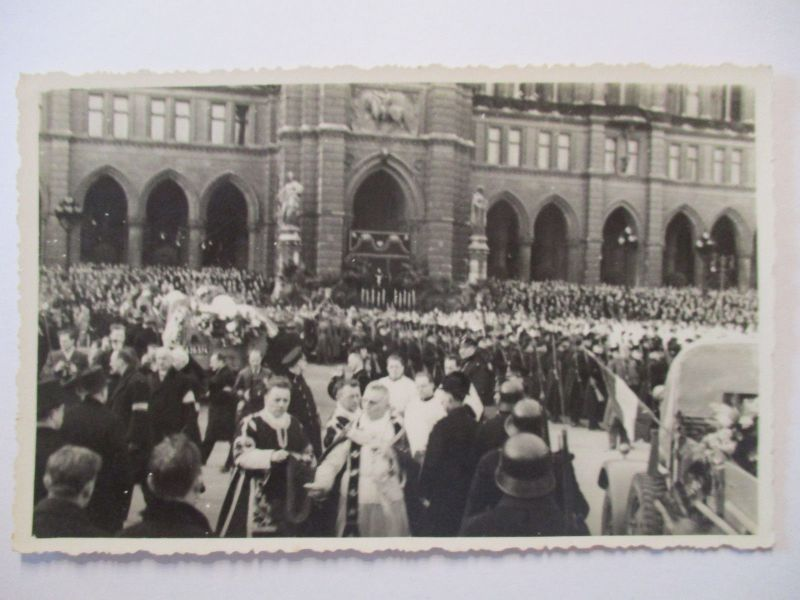österreich Wien Revolution Begräbnis Der Exekutivopfer Fotokarte