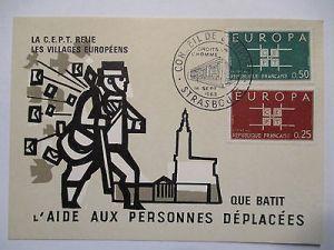 Frankreich, Europa Cept 1963 Sonderkarte (44793)