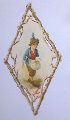 Kaufmannsbilder, Oblaten, La Chicoree du Docteur,  Kinder, Monat  1845 ♥ (61851)