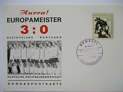 Fußball Europameisterschaft Belgien 1972, Deutschland-Rußland Endspiel (9241)