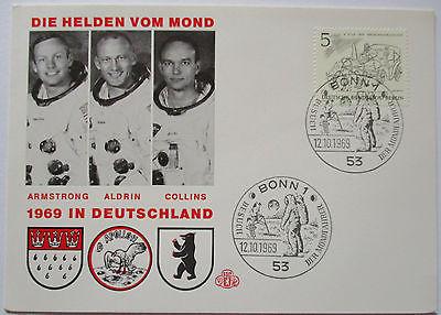 Raumfahrt Weltraum, Apollo, Die Helden vom Mond, Deutschlandbesuch 1969 (32586)