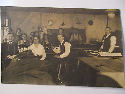 Berufe, Schneider, Näherinnen, Nähmaschine, Fotokarte (5007)