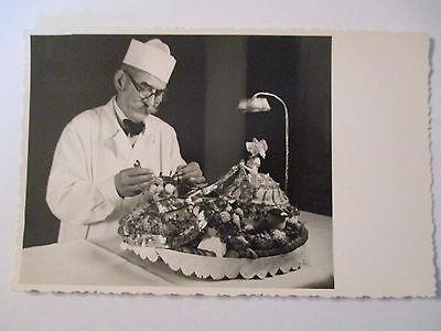 Berufe, Bäcker, Konditor, Fotokarte 1959 (37842)