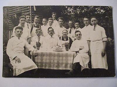 Berufe, Bäcker, Konditore, Fotokarte ca. 1930 (38517)